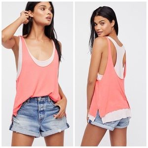 🆕 WE THE FREE FREE PEOPLE KARMEN TANK TOP SHIRT S